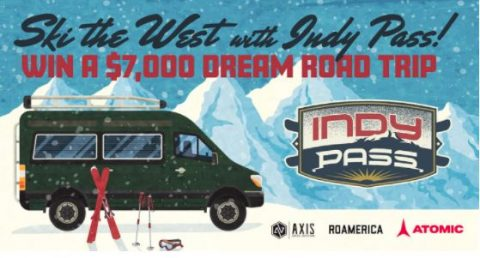 """Indy Pass """"Ski The West"""" Dream Vacation Sweepstakes"""