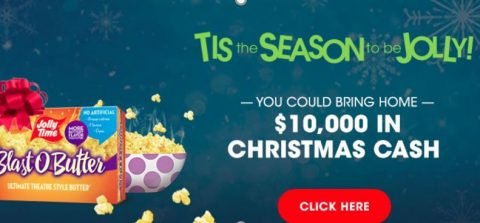 Valpak 'Tis the Season to be Jolly Sweepstakes