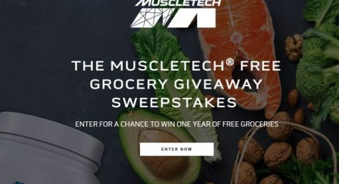 MuscleTech Free Grocery Giveaway Sweepstakes