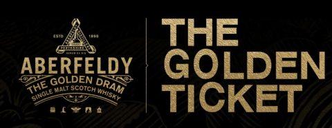 Aberfeldy Golden Ticket Sweepstakes