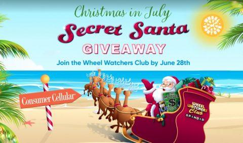 Wheel of Fortune's Secret Santa Holiday Giveaway V