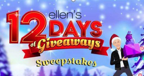 Ellen's 12 Days of Giveaways 2020