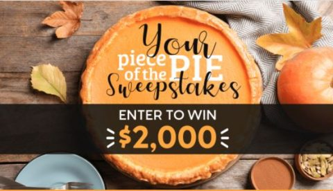 Lee Newspape Your Piece of the Pie Sweepstakes