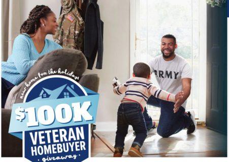 Realtor.com $100K Veteran Homebuyer Giveaway