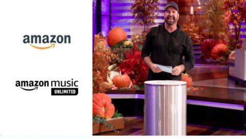Ellen Amazon Music Giveaway