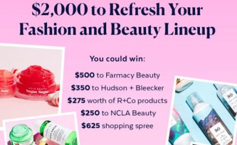 Popsugar Refresh Your Fashion Sweepstakes