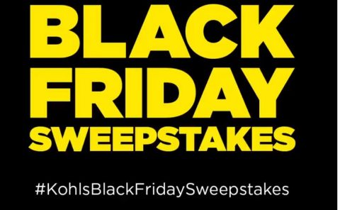 Kohl's Black Friday Sweepstakes