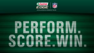 Castrol NFL Perform Score Sweepstakes