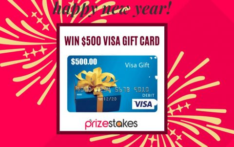 Prizestakes Happy New Year Giveaway