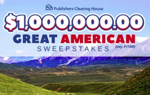 PCH $1 Million Great American Sweepstakes