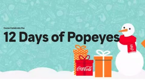 12 Days of Popeyes Sweepstakes