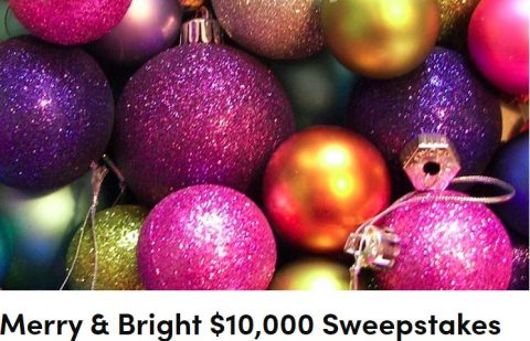 Real Simple Merry & Bright $10,000 Sweepstakes