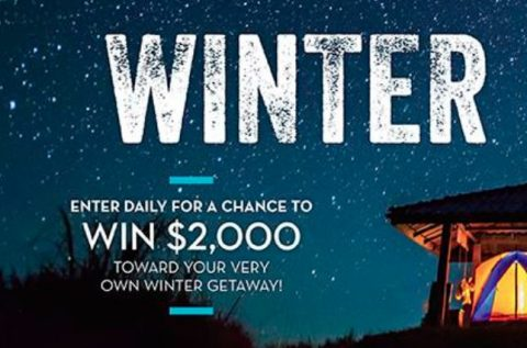 Midwest Living 2021 Winter Getaways Sweepstakes