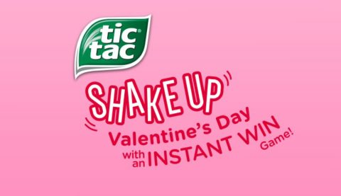 Tic Tac Shake Up Valentine's Day Game