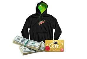 """Mtn Dew """"Daily Pit Stop"""" Instant Win Game & Sweepstakes"""