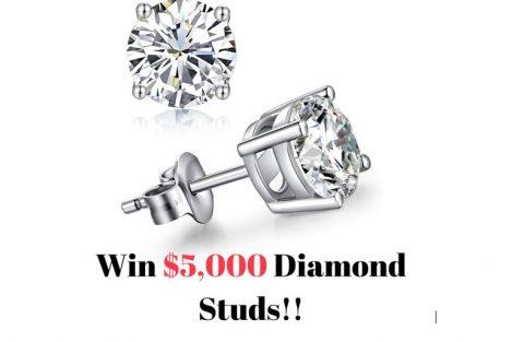 SuperJeweler $5,000 Diamond Studs 2021 Giveaway