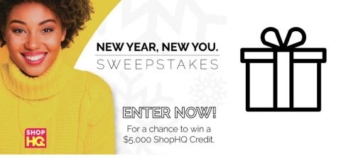 ShopHQ's New Year, New You Sweepstakes