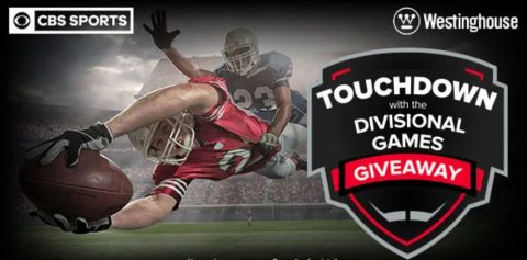 CBS Sports Touchdown With Divisional Games Giveaway