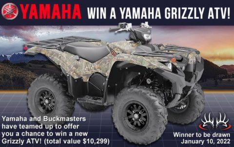 Buckmasters Yamaha Grizzly ATV 2021 Giveaway
