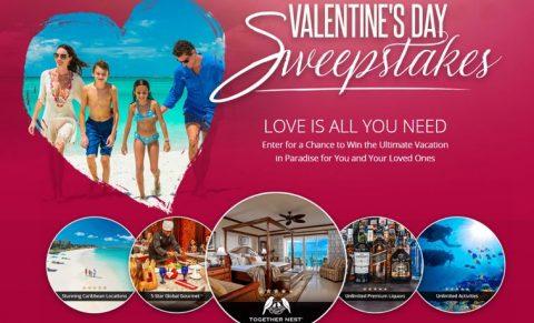 Beaches Valentines Sweepstakes