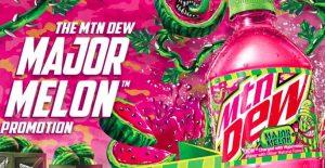 Mtn Dew Major Melon Sweepstakes
