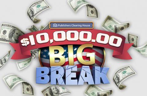 PCH $10,000 Big Break Sweepstakes