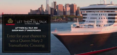 Let Them All Talk And Queen Mary 2 Sweepstakes