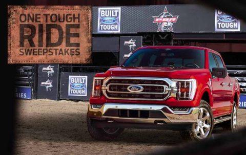Built Ford ToughOne Tough Ride 2021 Sweepstakes