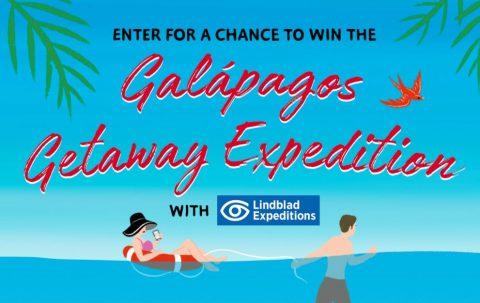 Simon & Schuster Galapagos Getaway Expedition Sweepstakes