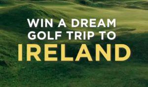 Ireland Golf Bucket List Sweepstakes