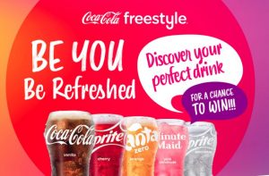 Coca-Cola Freestyle Be You Be Refreshed Sweepstakes