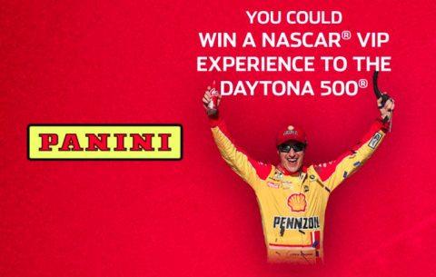 Panini's NASCAR VIP Experience to DAYTONA 500 Sweepstakes