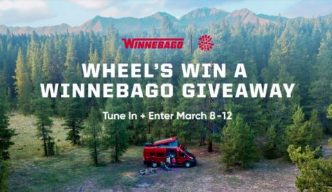 Wheel of Fortune Win a Winnebago Giveaway