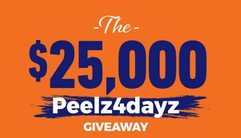 Peelz 4 Dayz Sweepstakes