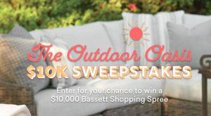 Bassett Furniture Outdoor Giveaway