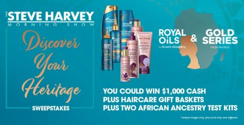 Steve Harvey Morning Show Discover Your Heritage Sweepstakes
