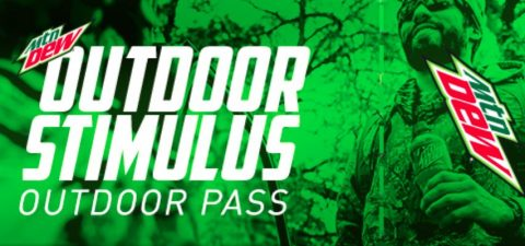 MTN DEW Outdoor 2021 Stimulus Instant Win Game