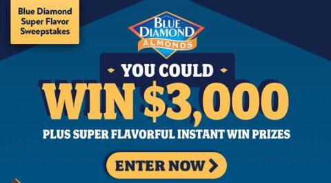 Blue Diamond Super Flavor Sweepstakes