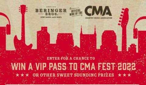 Beringer CMA Fest 2022 Sweepstakes