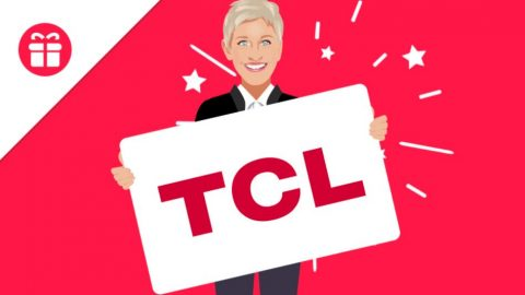 Ellen TCL Android TV Giveaway