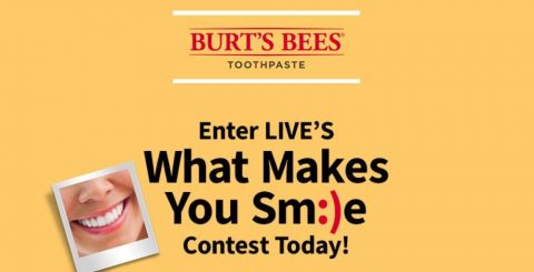LIVE's What Makes You Smile Contest
