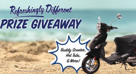 Refreshingly Different Moped Giveaway