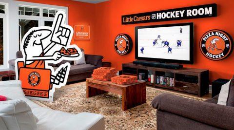 Pepsi & Little Caesars Ultimate Hockey Hangout Sweepstakes