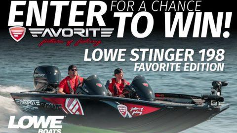 MLF Lowe Favorite Bass Boat Giveaway