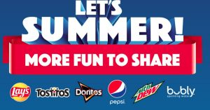 Frito Lay Let's Summer Sweepstakes