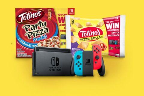 Totino's Nintendo Switch Sweepstakes