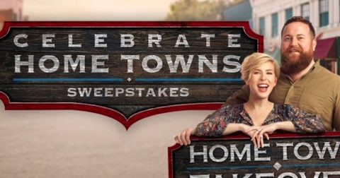 HGTV Celebrate Home Towns Sweepstakes