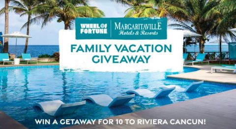 Wheel of Fortune Margaritaville Resorts Family Vacation Giveaway