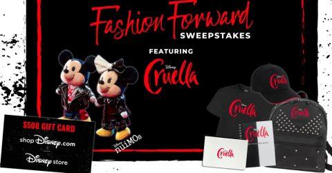 Disney Movie Insiders Fashion Forward Sweepstakes