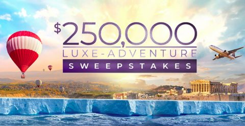 Atlas Ocean $250,000 Luxe-Adventure Sweepstakes